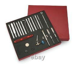 Robert Sorby 18 Pièces Modulaires Micro Tournant Set 888hs18t