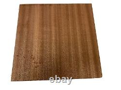 Sapele/sapelli Turning Wood Bowl, Cuting Board Blank Lathe 12 X 12 X 4