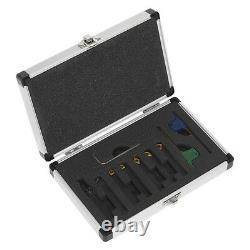 Sealey Sm3025cs5 Jeu De Tour De Tour De 8mm Indexable 7pc