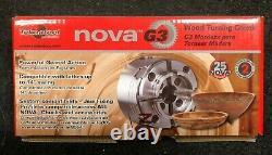 Teknatool Nova G3 Bois Tourner Chuck Avec 50mm Jaw Set 48202 Marque Nouveau
