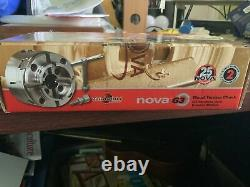 Teknatool Nova G3 Wood Turning Chuck 48232 D Thread Nouveau