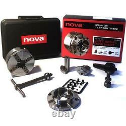 Teknatool T32357 Nova G3 Pen Tournant Chuck Bundle Fil Direct 1 X 8tpi
