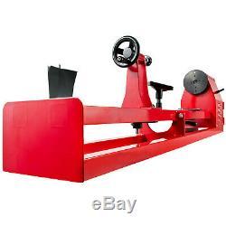 Tour À Bois 14 X 40 Power Wood Turning Lathe 400w 4 Vitesse Benchtop