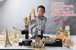 Zhouyu 36w Mini Métal Wood-turning Machine Power Tool Woodworking Modelmaking